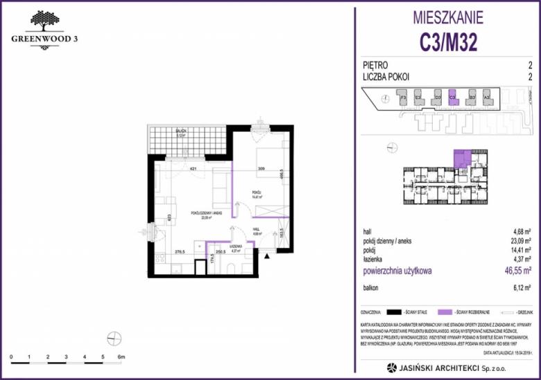 Mieszkanie C3/M32