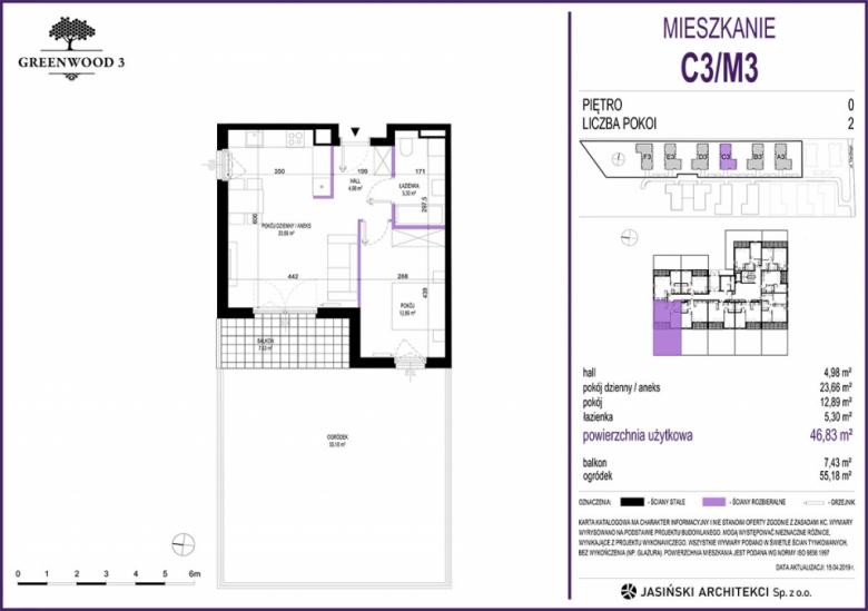 Mieszkanie C3/M3