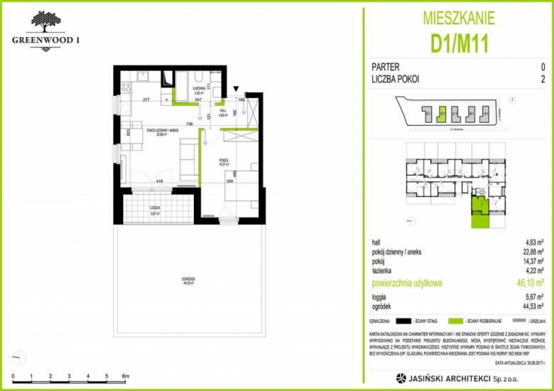 Mieszkanie D1/M11