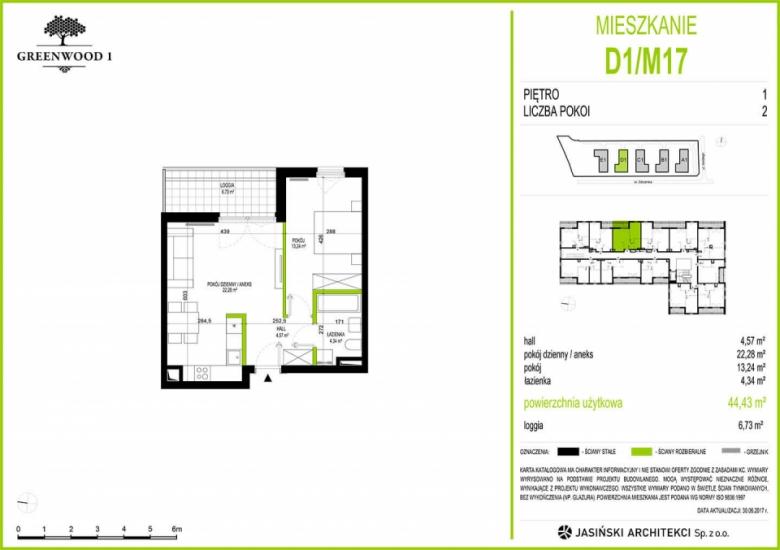 Mieszkanie D1/M17