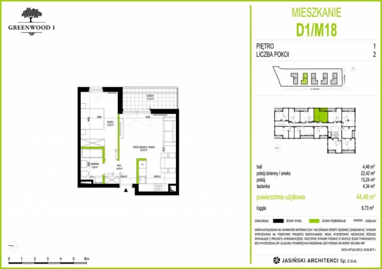 Mieszkanie D1/M18