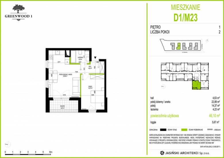 Mieszkanie D1/M23