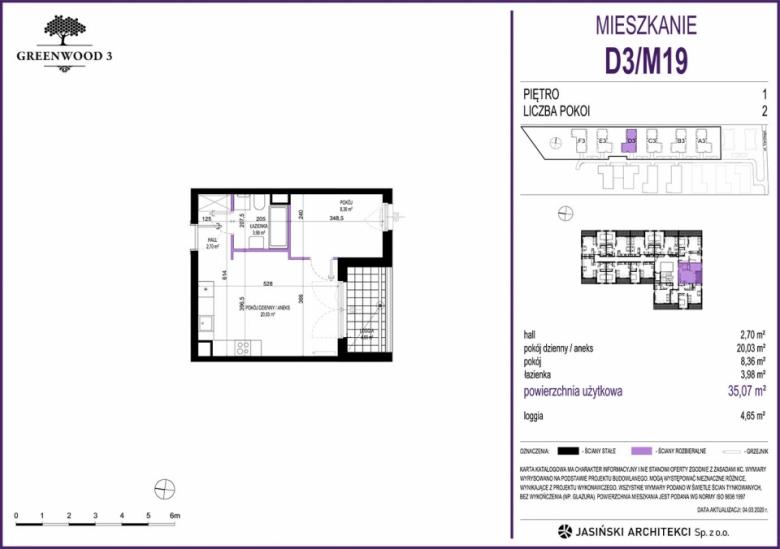 Mieszkanie D3/M19