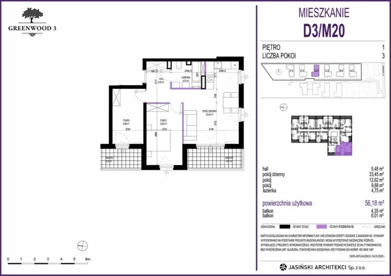 Mieszkanie D3/M20