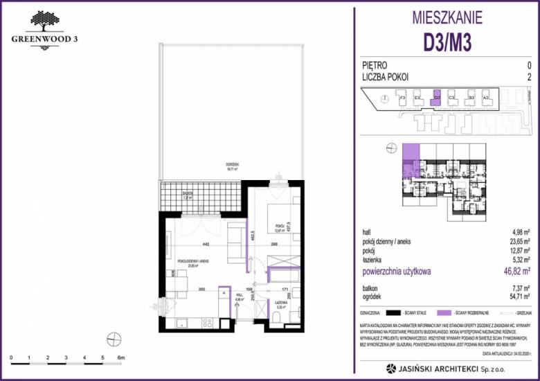 Mieszkanie D3/M3