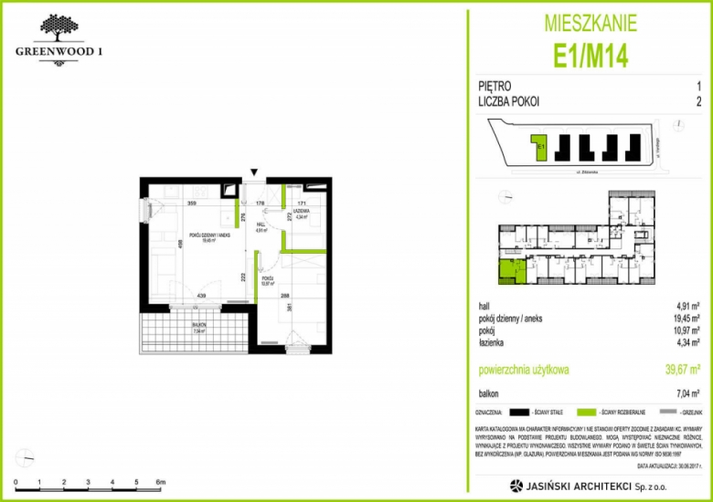 Mieszkanie E1/M14