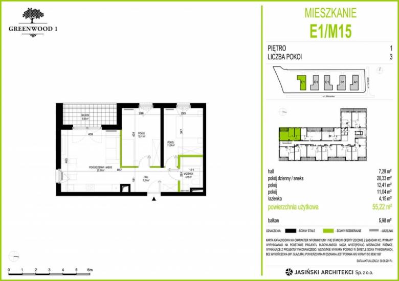 Mieszkanie E1/M15