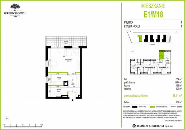 Mieszkanie E1/M18