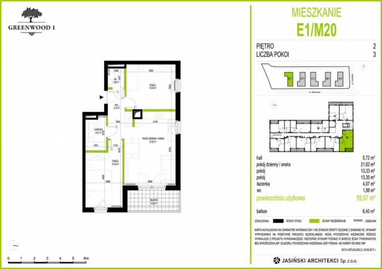 Mieszkanie E1/M20
