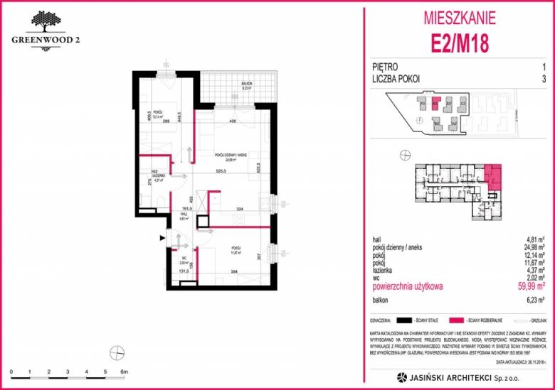 Mieszkanie E2/M18