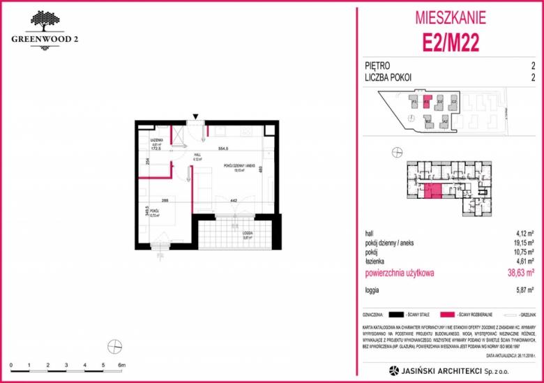 Mieszkanie E2/M22