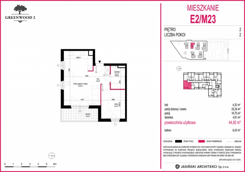 Mieszkanie E2/M23