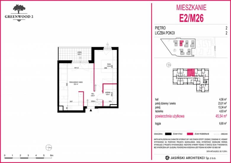 Mieszkanie E2/M26