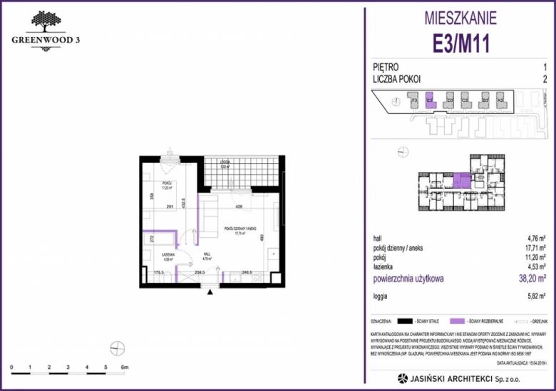 Mieszkanie E3/M11