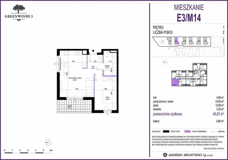 Mieszkanie E3/M14