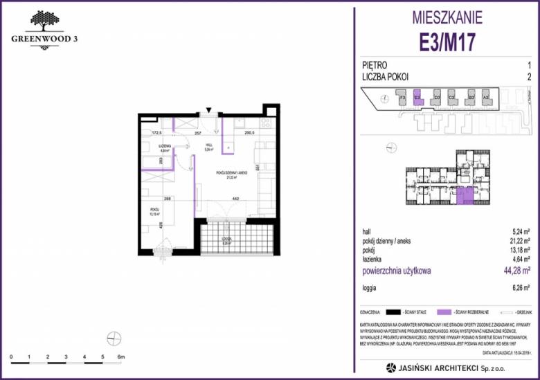 Mieszkanie E3/M17