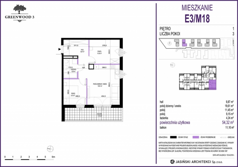 Mieszkanie E3/M18
