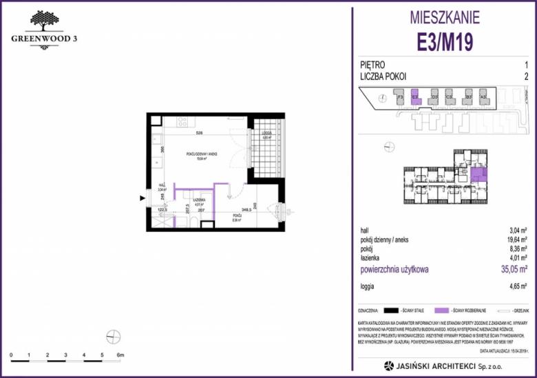 Mieszkanie E3/M19