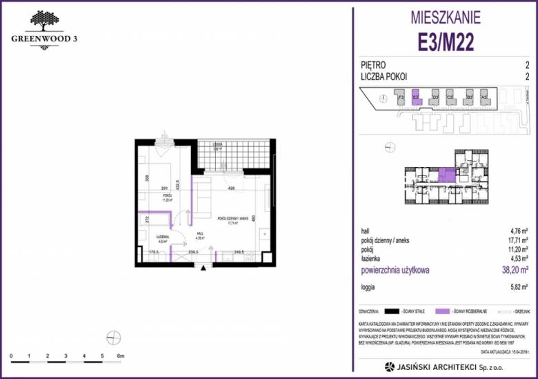 Mieszkanie E3/M22