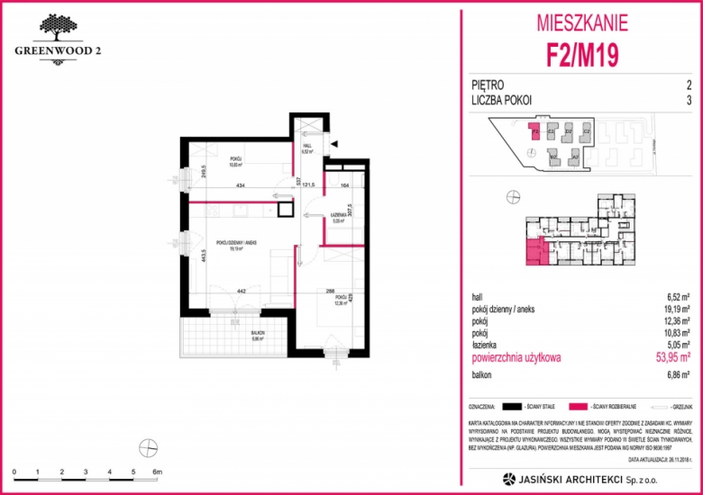Mieszkanie F2/M19