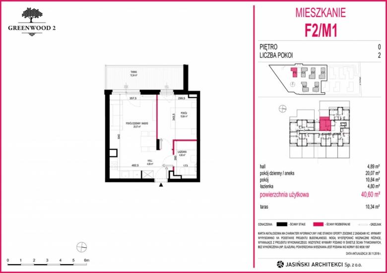 Mieszkanie F2/M1
