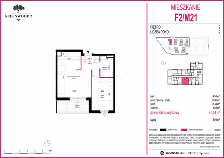 Mieszkanie F2/M21