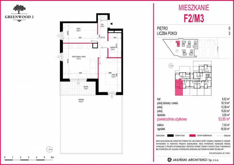 Mieszkanie F2/M3