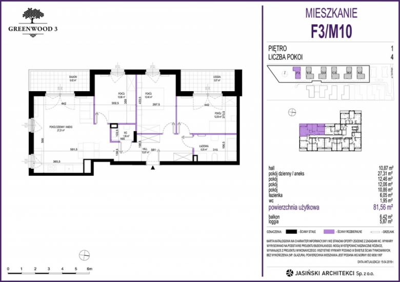 Mieszkanie F3/M10