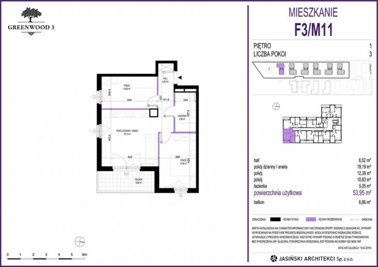 Mieszkanie F3/M11
