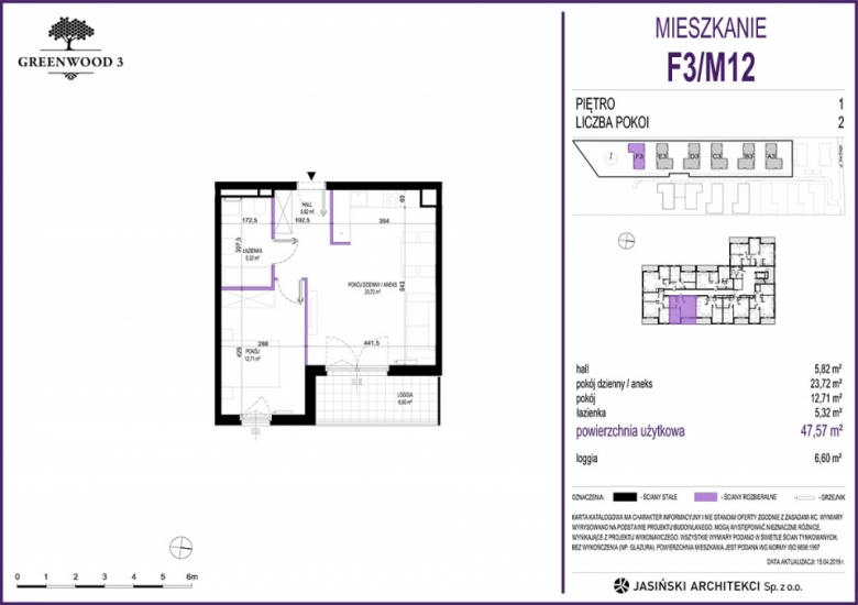 Mieszkanie F3/M12