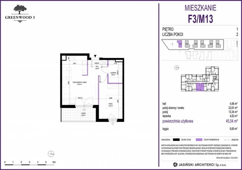 Mieszkanie F3/M13