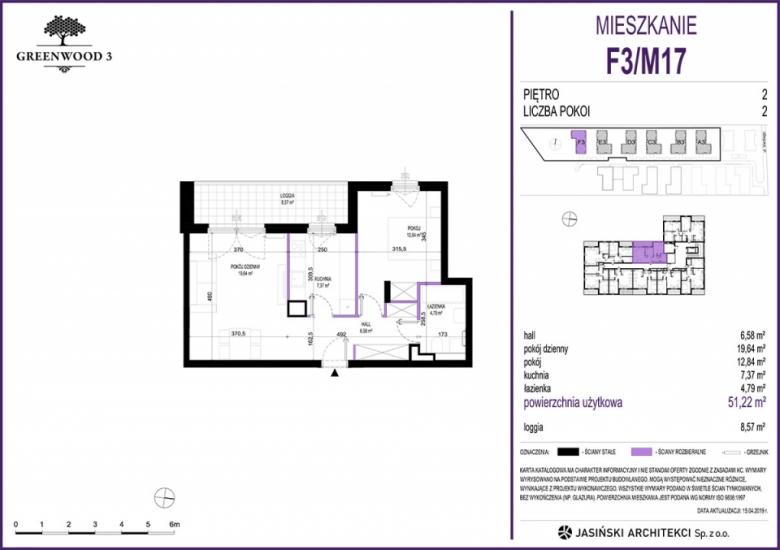 Mieszkanie F3/M17