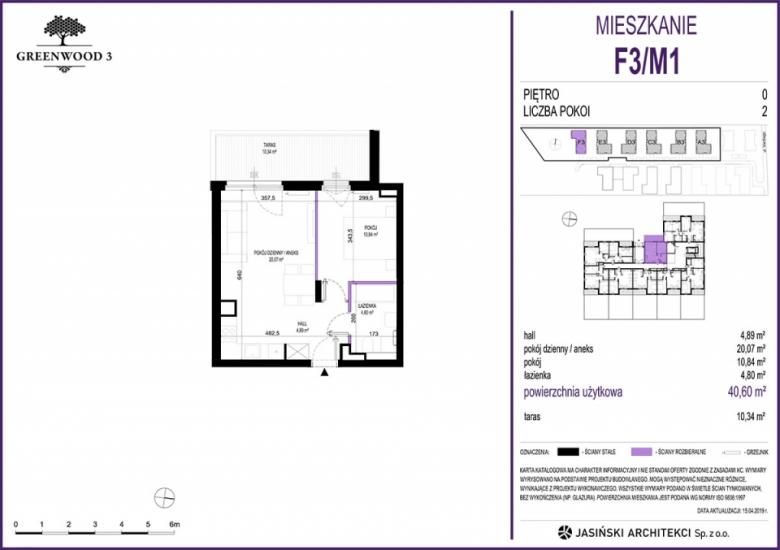 Mieszkanie F3/M1