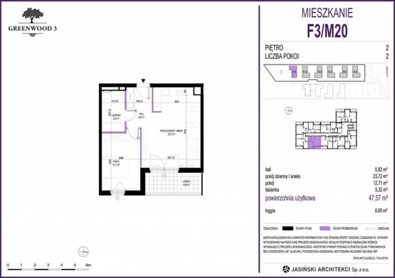 Mieszkanie F3/M20