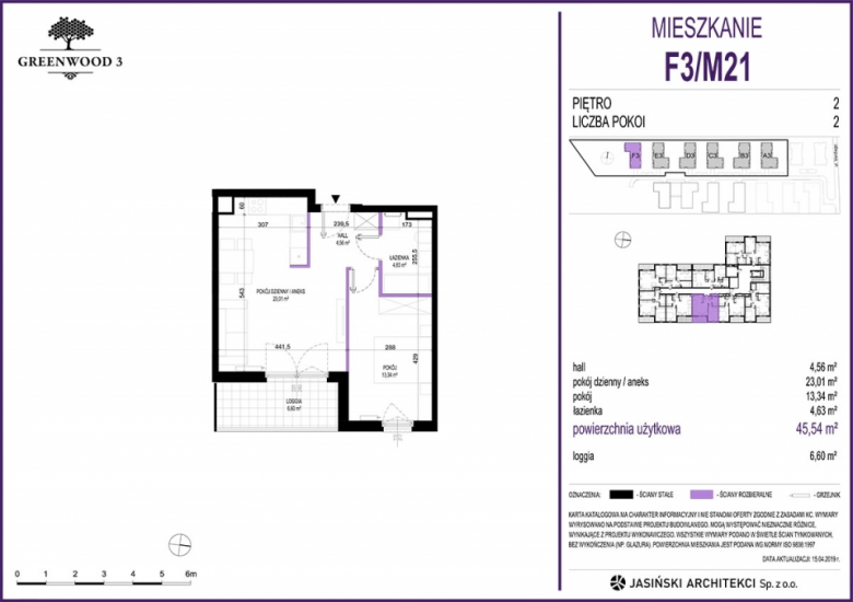 Mieszkanie F3/M21