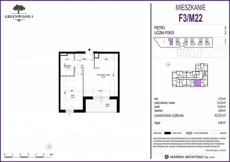 Mieszkanie F3/M22