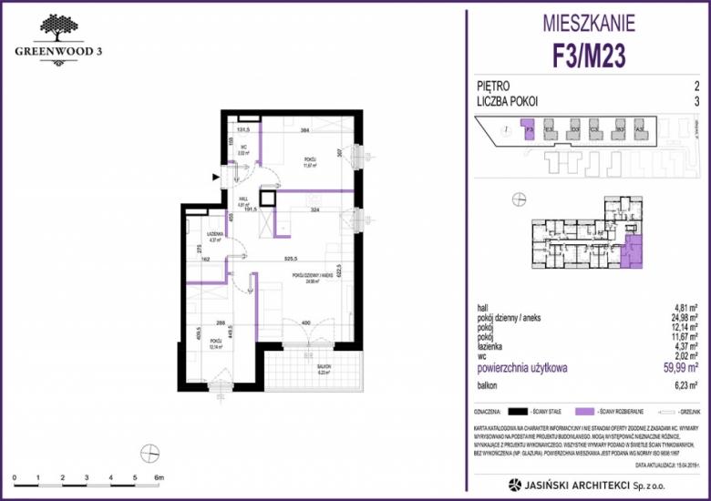 Mieszkanie F3/M23