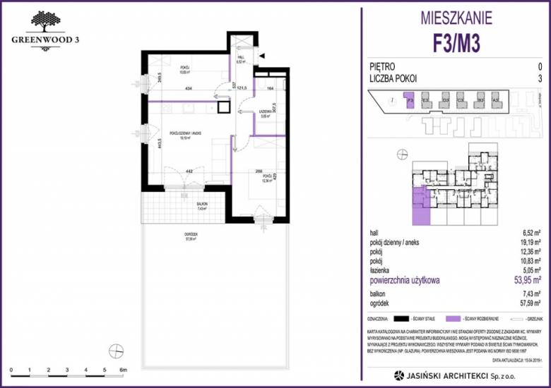 Mieszkanie F3/M3