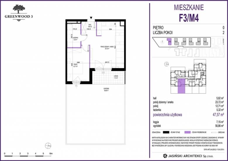 Mieszkanie F3/M4