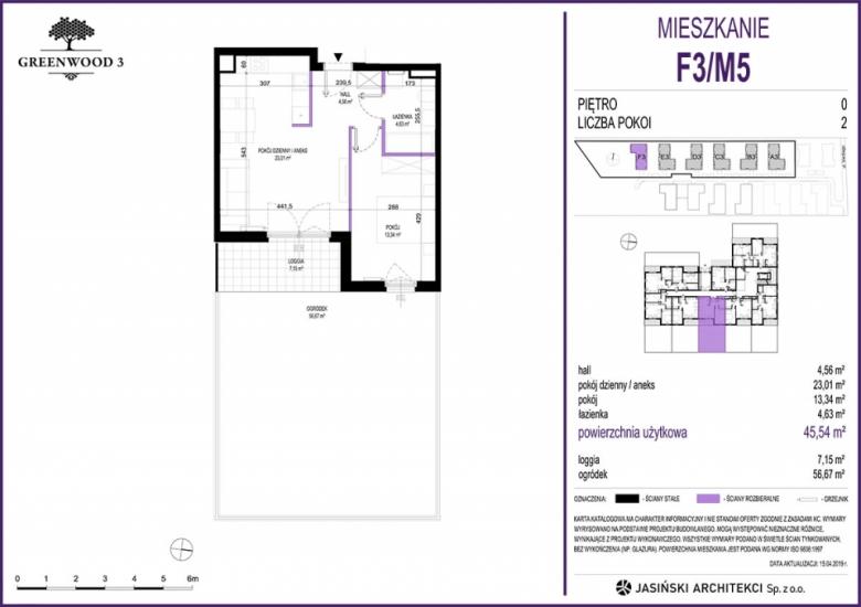 Mieszkanie F3/M5