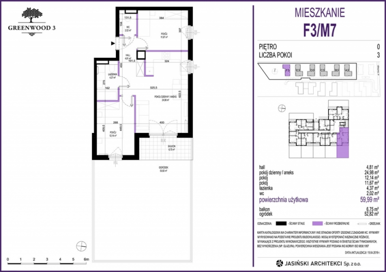 Mieszkanie F3/M7