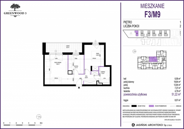 Mieszkanie F3/M9