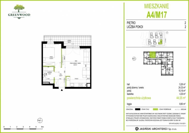 Mieszkanie A4/M17