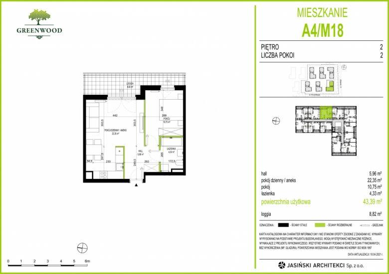 Mieszkanie A4/M18