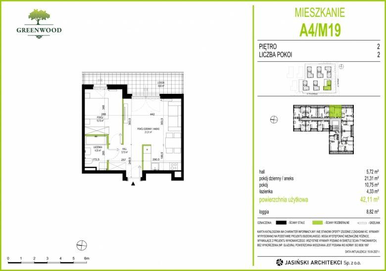 Mieszkanie A4/M19