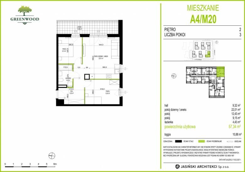 Mieszkanie A4/M20