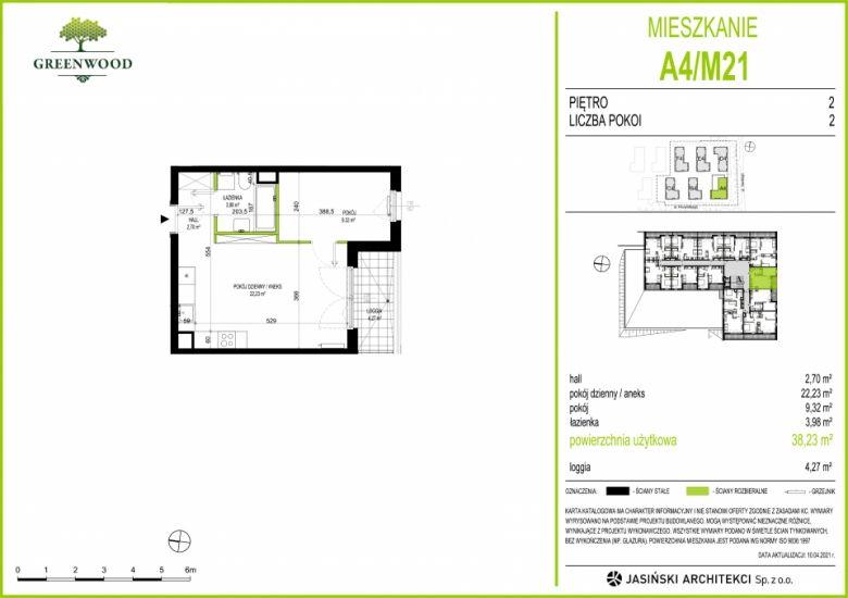 Mieszkanie A4/M21