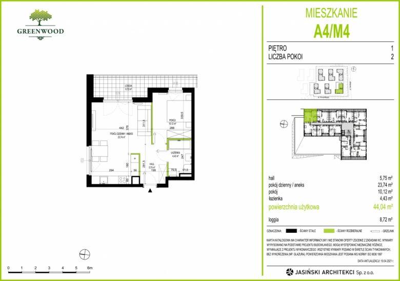 Mieszkanie A4/M4