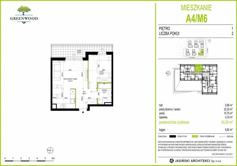 Mieszkanie A4/M6
