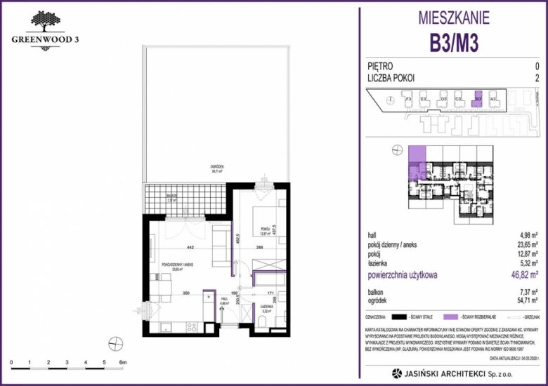 Mieszkanie B3/M3